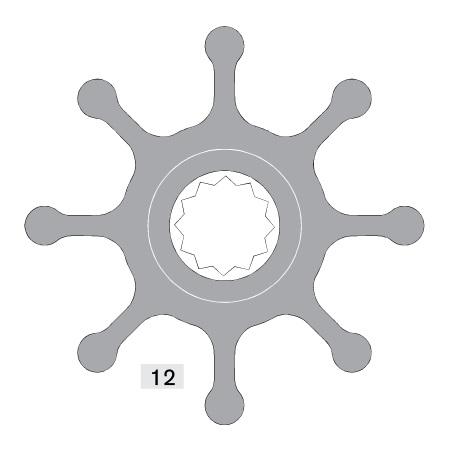 Johnson impeller 1028BT-1