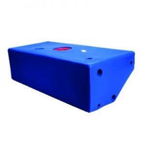 Vuilwatertank 50 liter met schuine zijde
