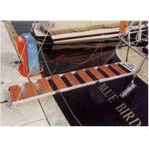 Aluminium trapeze voor loopplank