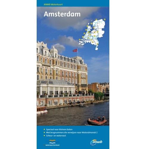 ANWB Waterkaart Amsterdam