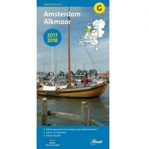 ANWB Waterkaart G (Amsterdam - Alkmaar)