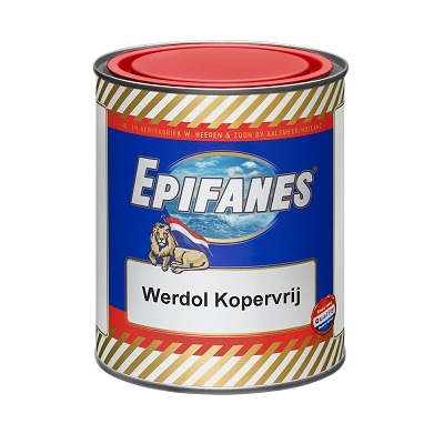 Werdol Kopervrij blauw 0,75 L