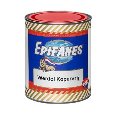 Werdol Kopervrij rood 2 L