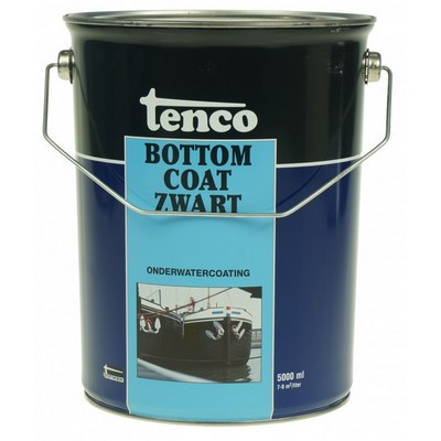 Tenco Bottom Coat Zwart 5 L