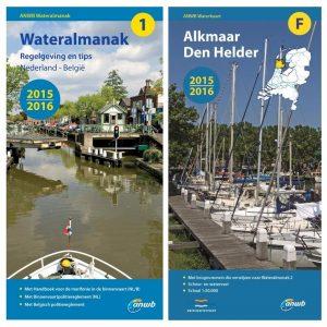 Almanakken en waterkaarten