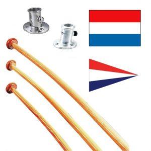 Vlaggen en vlaggenstokken