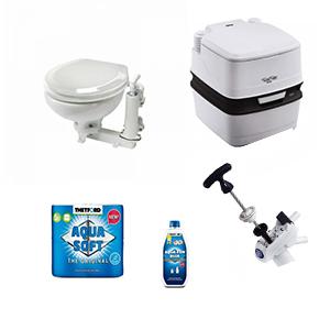 Toiletten en onderdelen